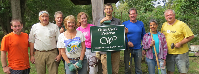 Otter Creek Preserve Enhancement Initiative Volunteers